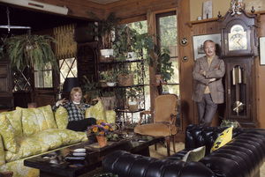 Shirley Jones and Jack Cassidy at home1973© 1978 Gene Trindl - Image 0717_0046