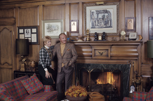 Shirley Jones and Jack Cassidy at home1973© 1978 Gene Trindl - Image 0717_0048