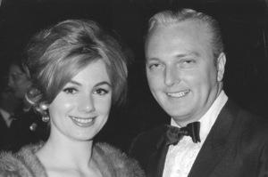 Shirley Jones with Husband Jack Cassidyat Screen Producers Awards, 1964 © 1978 Chester Maydole - Image 0717_0055