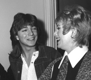 Shirley Jones with her son David Cassidy C. 1972 © 1978 Kim Maydole Lynch - Image 0717_0066