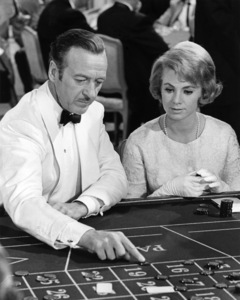 "David Niven and Shirley Jones in ""Bedtime Story""1964 Universal** I.V./M.T. - Image 0717_0070"