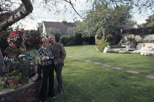 Shirley Jones and Jack Cassidy at home1973© 1978 Gene Trindl - Image 0717_0075