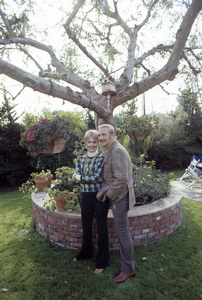 Shirley Jones and Jack Cassidy at home1973© 1978 Gene Trindl - Image 0717_0077