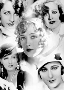 Mary Pickford, N. Shearer, J. Crawford, G. Garbo,c. 1930Photo by George Hurrell - Image 0718_0030