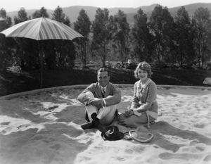 Douglas Fairbanks Sr. and Mary Pickford at Pickfair 1920** I.V. - Image 0718_1157
