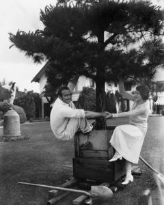 Douglas Fairbanks Sr. and Mary Pickford at Pickfair 1925** I.V. - Image 0718_1158
