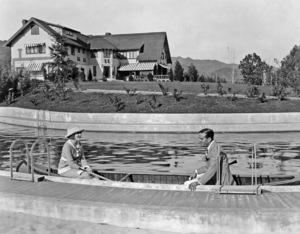 Douglas Fairbanks Sr. and Mary Pickford at Pickfair 1920** I.V. - Image 0718_1159