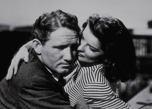 "Katharine Hepburn and Spencer Tracy in""Woman Of The Year""1942 MGM - Image 0722_0083"