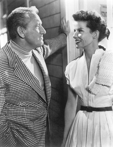 Katharine Hepburn & Spencer TracyC. 1949 - Image 0722_0088