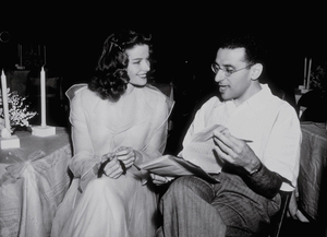 "Katharine Hepburn and Director George Cukor ""The Philadelphia Story""1940 MGM - Image 0722_1006"
