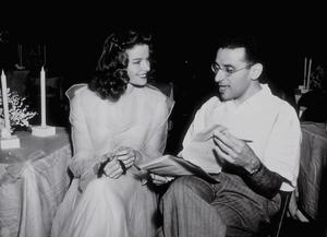 "Katharine Hepburn and Director George Cukor ""The Philadelphia Story""1940 MGM - Image 0722_1006"