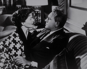"Katharine Hepburn and Spencer Tracy in""Adam"