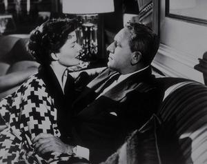 "Katharine Hepburn and Spencer Tracy in""Adam"
