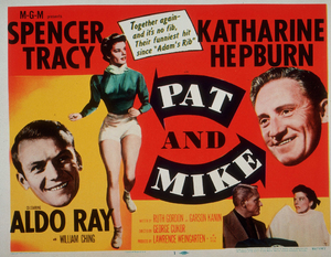 """Katharine Hepburn and Spencer Tracy""""Pat & Mike""""1952 MGM**M.H./Lobby Card - Image 0722_2214"""