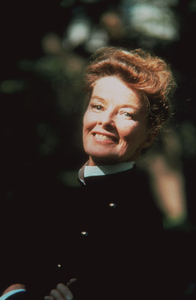 Katharine Hepburn at her New York City home1969 © 1978 Bob Willoughby  - Image 0722_2224