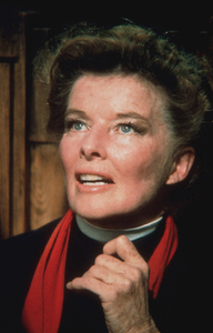"""Katharine Hepburn on the set of""""Lion In Winter""""1968 © 1978 Bob Willoughby - Image 0722_2226"""