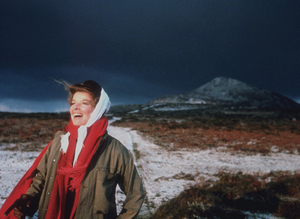 """Katharine Hepburn on location for""""Lion In Winter""""1967 © 1978 Bob Willoughby - Image 0722_2238"""