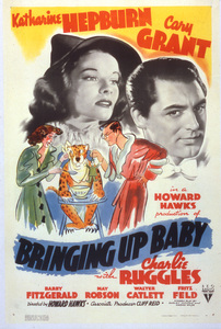 """Bringing Up Baby""Poster1938 RKO**I.V. - Image 0722_2325"