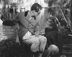 """Bringing Up Baby""Cary Grant & Katharine Hepburn1938 RKO**I.V. - Image 0722_2329"