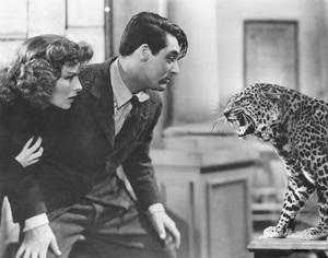 """Bringing Up Baby""Cary Grant & Katharine Hepburn1938 RKO**I.V. - Image 0722_2330"
