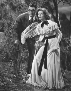 """Bringing Up Baby""Cary Grant & Katharine Hepburn1938 RKO**I.V. - Image 0722_2334"