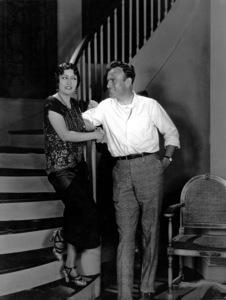 Gloria Swanson and director Sam Woodc. 1923 / **I.V. - Image 0723_0042