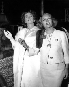 "Gloria Swanson, wax figure of Norma Desmond,""Sunset Blvd"" early 1960"