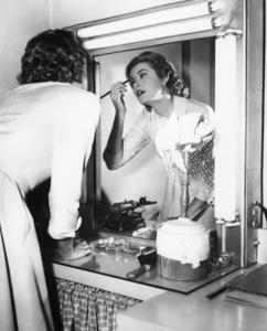Grace Kelly in her dressing roomcirca 1954** I.V. - Image 0724_0115