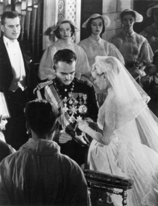 "Grace Kelly and Prince Rainier in ""The Wedding In Monaco,"" 1956/ MGM. - Image 0724_0132"
