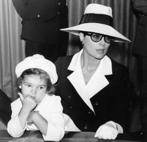 Grace Kelly and daughter Princess Stephanie in New YorkJune 11, 1968. - Image 0724_0215