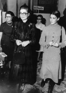 Grace Kelly and daughter Princess Caroline11/16/70 - Image 0724_0226