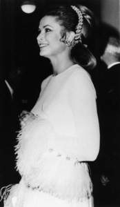 Grace Kelly at the London Charity Variety Show at the Royal Festival Hall in London, Nov. 16, 1970. - Image 0724_0245
