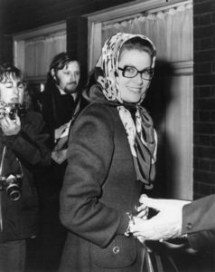 """Grace Kelly arriving at the royal festival hall to rehearse for the charity show """"Nights Of Nights,"""" 1970. - Image 0724_0246"""