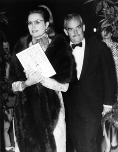 Grace Kelly with Prince Rainier attending the Ballet in Monaco, 1967. - Image 0724_0250