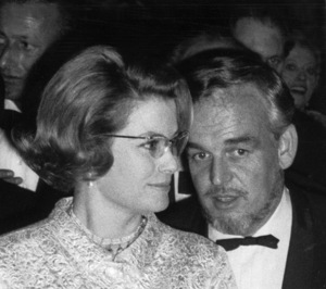 Grace Kelly with husband Prince Rainier at La Scala.1966 - Image 0724_0255
