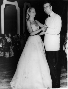"Grace Kelly with Governor George Leader at a charity premiere of ""To Catch A Thief,"" 1955.**I.V. - Image 0724_0288"