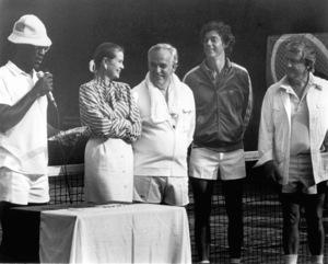 Grace Kelly with Bill Cosby, Prince Rainier, Merv Griffithc. 1972**I.V. - Image 0724_0333