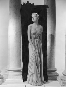"""Grace Kelly in a dress designed by Edith Head for a dance sequence in """"To Catch A Thief,"""" 1954.**I.V. - Image 0724_0342"""