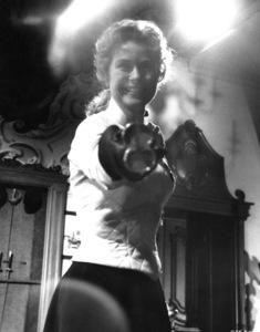 "Grace Kelly on the set of ""The Swan,"" 1955.**I.V. - Image 0724_0353"
