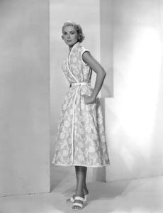 Grace Kelly in one of Edith Head