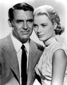 """Grace Kelly, Cary Grantpublicity photo for """"To Catch A Thief,"""" 1955.**I.V. - Image 0724_0360"""