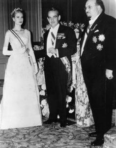 "Grace Kelly and Prince Rainier, ""The Wedding In Monaco,""1956.**I.V. - Image 0724_0366"
