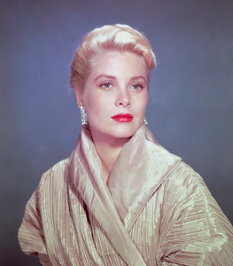 Grace Kelly 1955Photo by Bud Fraker** I.V. - Image 0724_0394