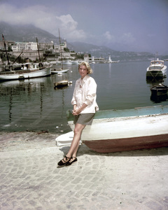 """Grace Kelly in Monaco during filming of """"To Catch a Thief"""" 1954 ** I.V. - Image 0724_0430"""