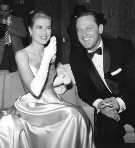 Grace Kelly with William Holden. 1956. I.V. - Image 0724_0436