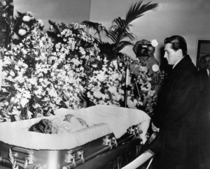 The motion picture actor Harold Maresch, named by the late Lupe Velez as the father of her unborn child, stands before Lupe