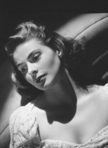 Ingrid Bergman, c. 1939.Photo by Laszlo Willinger - Image 0726_0195