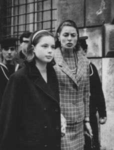 Ingrid BergmanWith daughter Isabella Rossellini in Rome1966 - Image 0726_1037