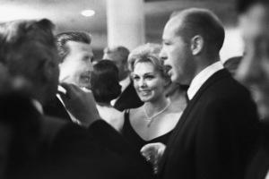 """Ingrid Bergman Party""Kirk Douglas, Kim Novak1959 © 1978 Lou Jacobs Jr. - Image 0726_1073"
