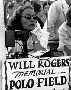 Joan Crawfordat Will Rogers Polo Field, 1948Copyright John Swope Trust / MPTV - Image 0728_0039